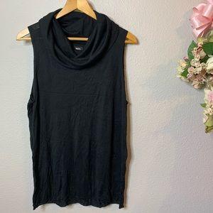 Women's Mossimo Thin Sleeveless Cowlneck Sweater
